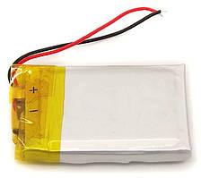 Аккумулятор для блютуз гарнитуры Универсальный 3.8*12*25mm (3.7V 80 mAh)