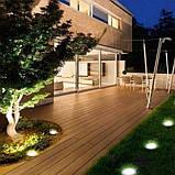 Уличный ночной фонарь LED светильник для сада на солнечной батарее DISKLIGHTS 435, фото 5