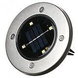 Уличный ночной фонарь LED светильник для сада на солнечной батарее DISKLIGHTS 435, фото 8