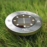 Уличный ночной фонарь LED светильник для сада на солнечной батарее DISKLIGHTS 435, фото 9