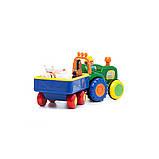 Трактор фермера Kiddieland 049726 озвучений російською, фото 5