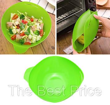 Форма силиконовая для выпечки и запекания (зеленый)