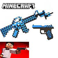 Пиксельный алмазный набор убивателя Minecraft