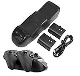 Док-станція KJH + 2 акумулятора для геймпадів Xbox Series X/S, фото 2