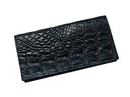 Кошелек из кожи крокодила Ekzotic Leather синий (cw11_1)