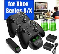 Док-станция KJH + 2 аккумулятора для геймпадов Xbox Series X/S