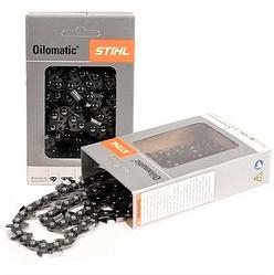 Цепь STIHL 25(50)RS PICCO (3/8 шаг, 50 звеньев, 25 зубов, паз 1.3мм.) пильная цепь Штиль Пикко для шины 35 см