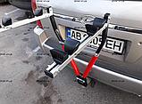 Велобагажник. Кріплення для перевезення 2 велосипедів. На фаркоп., фото 5