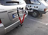 Велобагажник. Кріплення для перевезення 2 велосипедів. На фаркоп., фото 4