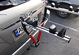 Велобагажник. Кріплення для перевезення 2 велосипедів. На фаркоп., фото 6