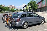 Велобагажник. Кріплення для перевезення 2 велосипедів. На фаркоп., фото 10