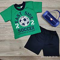 Детский трикотажный костюм для мальчика Soccer размер 1-4 года, цвет уточняйте при заказе, фото 1