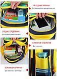 Рюкзак шкільний ортопедичний Minecraft Блакитний 42 см, фото 6