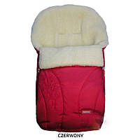 Спальный мешок на овчине Womar 25 zafirro светло-красный 90124
