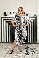 Платье стиля Oversaiz большие размеры 48-58, фото 1