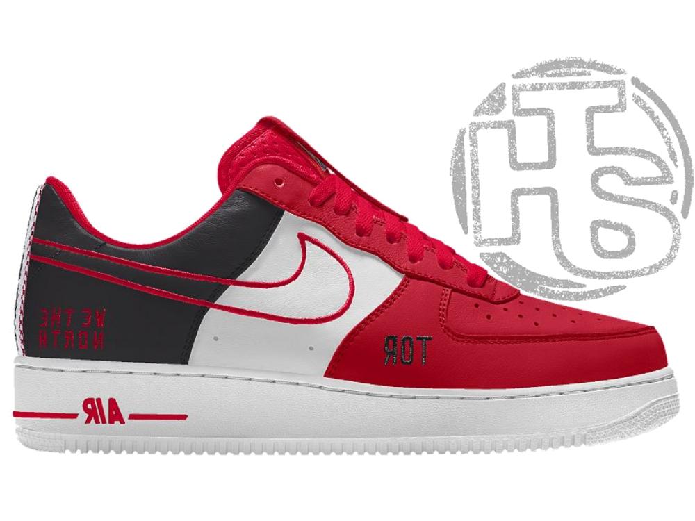 Мужские кроссовки Nike Air Force x NBA Toronto Raptors ALL06199