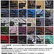 Багаторазова 2х шаровий Блискуча / бавовняна тканинна маска з наносником, 5 розмірів, фото 6