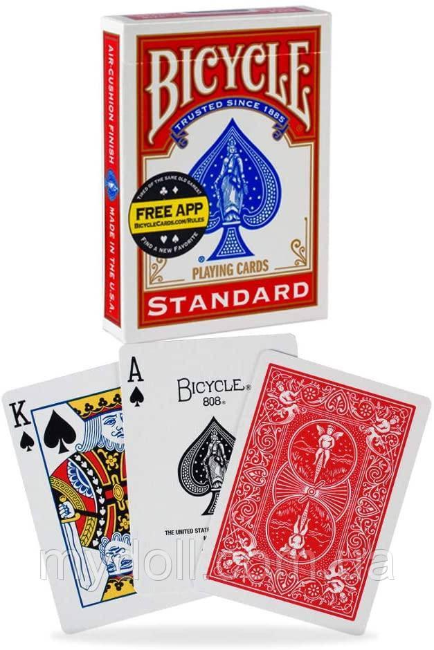 Игральные карты Bicycle Standard Face Playing Cards