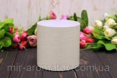 Кругла коробка для квітів без кришки D110mm/H110mm №6