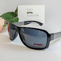 Стильные мужские солнцезащитные поляризованные очки Matrix