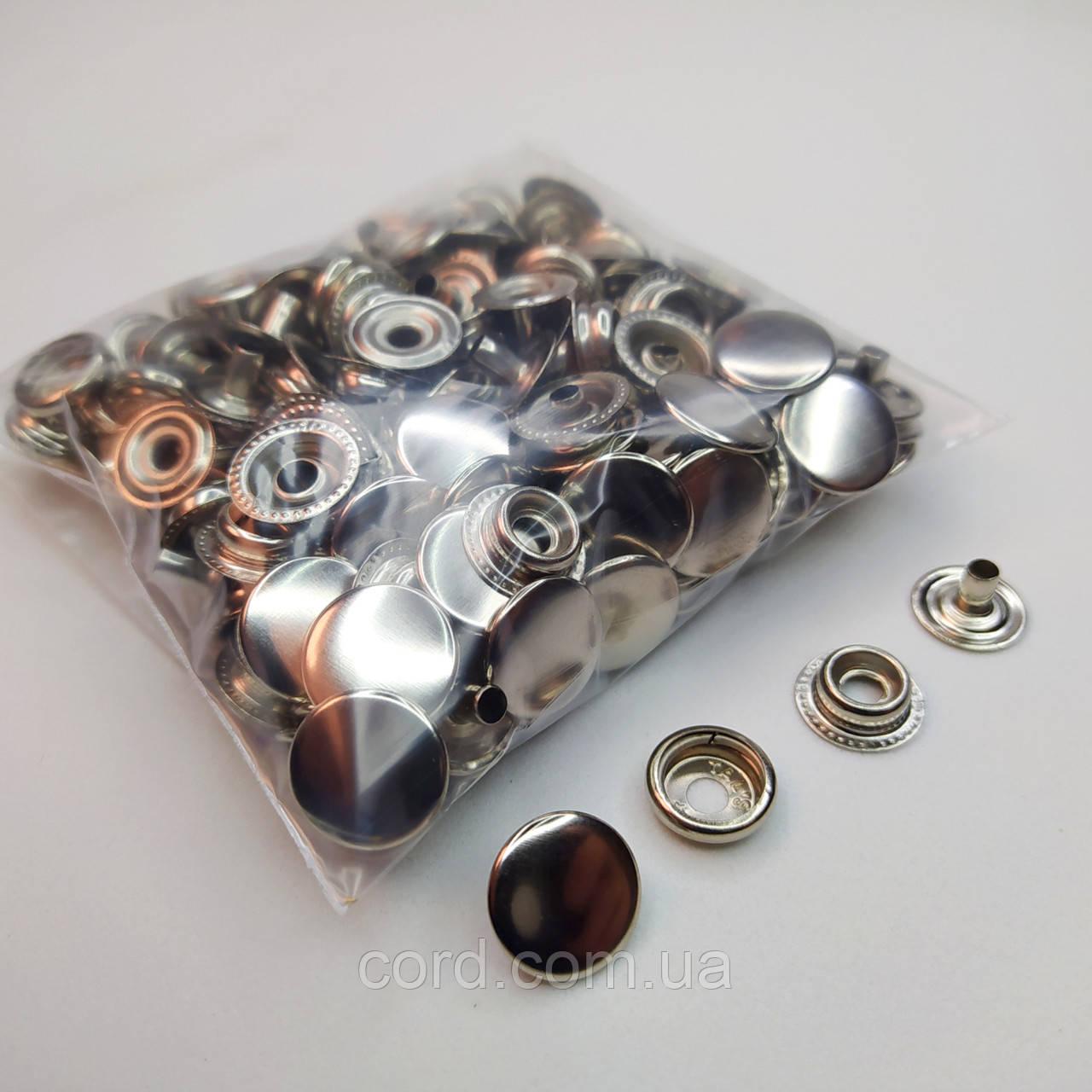 Кнопка киевская №61, 15 мм (кольцевая), Дашка, Капа. Упаковка (50 шт.)