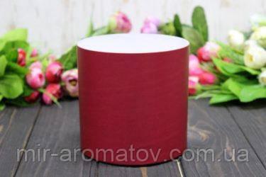 Круглая коробка для цветов без крышки D130mm /H13 0mm №8