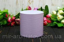 Круглая коробка для цветов без крышки D130mm /H13 0mm №7