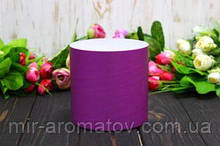 Круглая коробка для цветов без крышки D130mm /H13 0mm №2