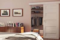 Комплект фурнітури SLIDO CLASSIC 80-P  вагою дверного полотна до 80кг, ширина 744>мм з 2-стороннім демпфером