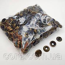 Кнопка киевская №61, 15 мм (кольцевая), Дашка, Капа. Упаковка (100 шт.)