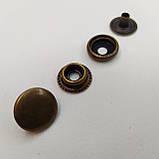 Кнопка киевская №61, 15 мм (кольцевая), Дашка, Капа. Упаковка (100 шт.), фото 3