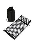 Масажний акупунктурний килимок з подушкою   Масажер для спини і ніг OSPORT   Аплікатор Кузнєцова, фото 3