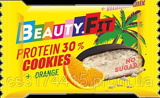 Протеиновое печенье в шоколаде Beauty.Fit Апельсин (40 грамм)