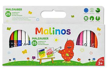 Чарівні фломастери, що змінюють колір MALINOS Malzauber 25 (12 + 9 + 4) шт