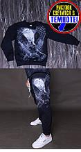 Костюм джемпер і штани Сова на ріст 158 світиться в темноті