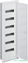 Щит распределительный FW612F вмонтированный IP30 72 мод. (6x12) Univers Hager