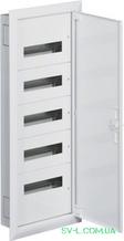Щит распределительный FW512F вмонтированный IP30 60 мод. (5x12) Univers Hager