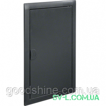 Двері з рамкою антрацит VZ332N для 2-рядного щита Volta Hager