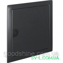 Двері з рамкою антрацит VZ331N для 1-рядного щита Volta Hager