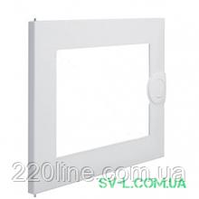 Двері металеві прозорі VA12K для щита VA12CN Hager Volta