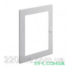 Двері металеві прозорі VA24K для щита VA24CN Hager Volta