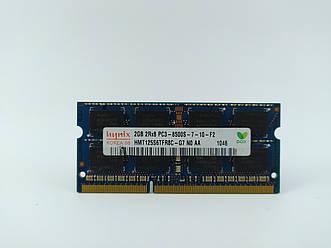 Оперативная память для ноутбука SODIMM Hynix DDR3 2Gb 1066MHz PC3-8500S (HMT125S6TFR8C-G7) Б/У