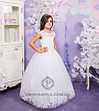 Длинное нарядное платье Дианочка  на 4-5, 6-7, 8-9 лет, фото 5