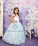 Длинное нарядное платье Дианочка  на 4-5, 6-7, 8-9 лет, фото 2