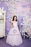 Длинное нарядное платье Дианочка  на 4-5, 6-7, 8-9 лет, фото 10