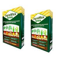 Добриво Агромакс (Agromax)  Комплект 2 уп./12 саше  Універсальне біодобриво до і після посадки (добриво)