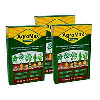 Агромакс добриво (Agromax)  Комплект 3 уп./12 саше  Препарат для поливу картоплі та інших рослин (добриво)