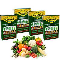 Agro Max добриво (добриво Агромакс) 4 уп./12 саше| біодобриво підживлення стимулятор росту врожаю картоплі