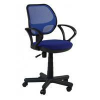 Кресло Чат с подлокотниками сиденье ткань А, спинка сетка