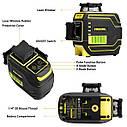 СУПЕРКОМПЛЕКТАЦИЯ ᐉ ᐉ Лазерний рівень Firecore F94T-XG➤ ГАРАНТІЯ 1рік ➤ штатив в подарунок, фото 3